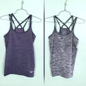 Nike Dri Fit Racerback Athletic Tank Tops (2)